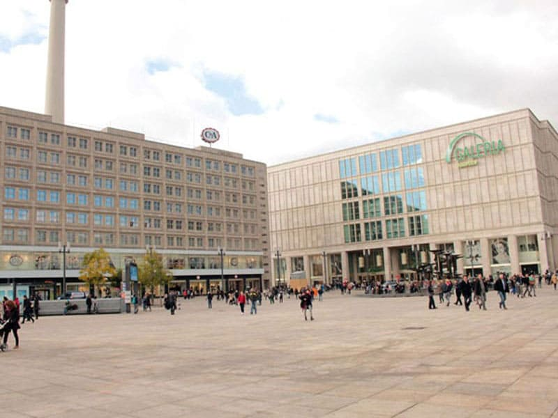 Площадь Александрплац