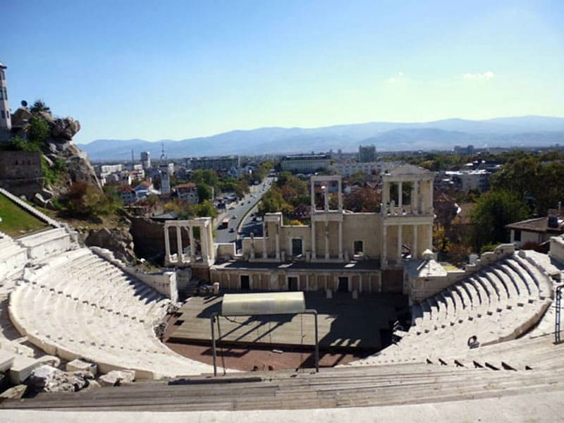Античный театр Пловдива