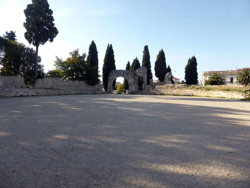 Археологический музей в Ницце