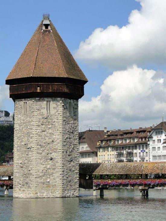 Водонапорная башня в Люцерне