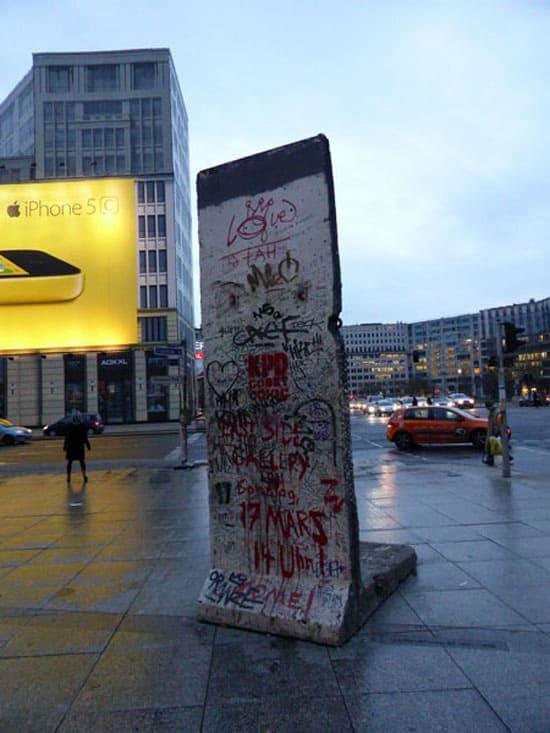 Блоки берлинской стены