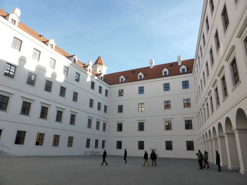 Внутренний дворик Братиславского Града