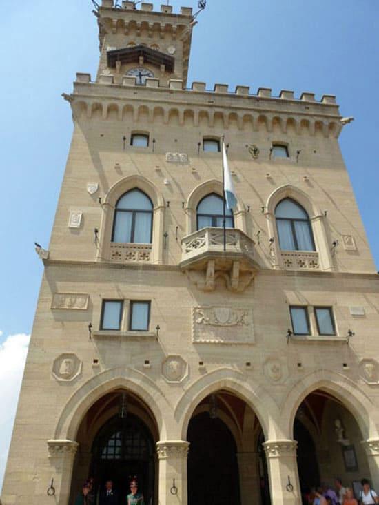 Государственный дворец, Сан-Марино