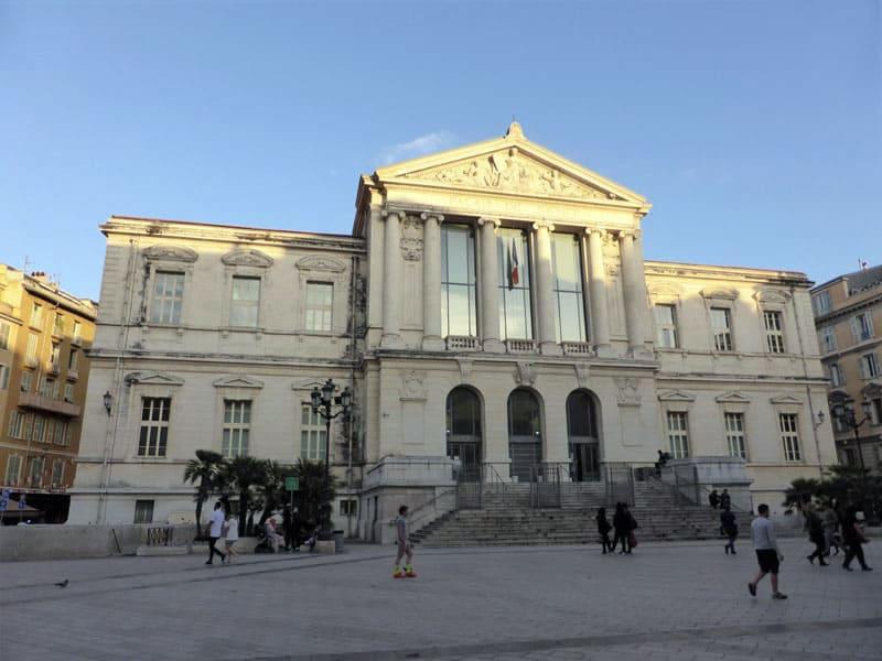 Дворец Юстиции в Ницце