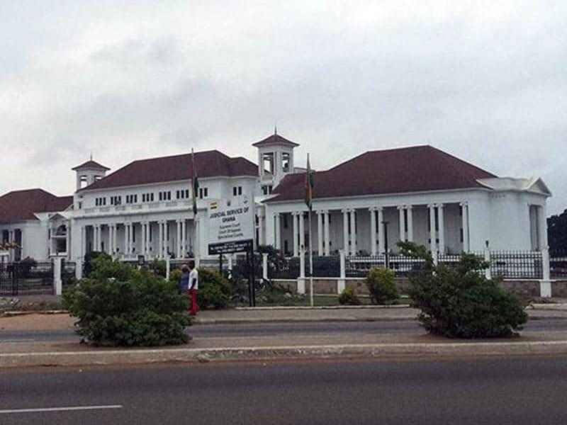 Здание суда в Аккре, Гана