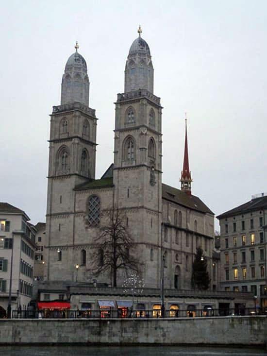 Церковь Гроссмюнстер
