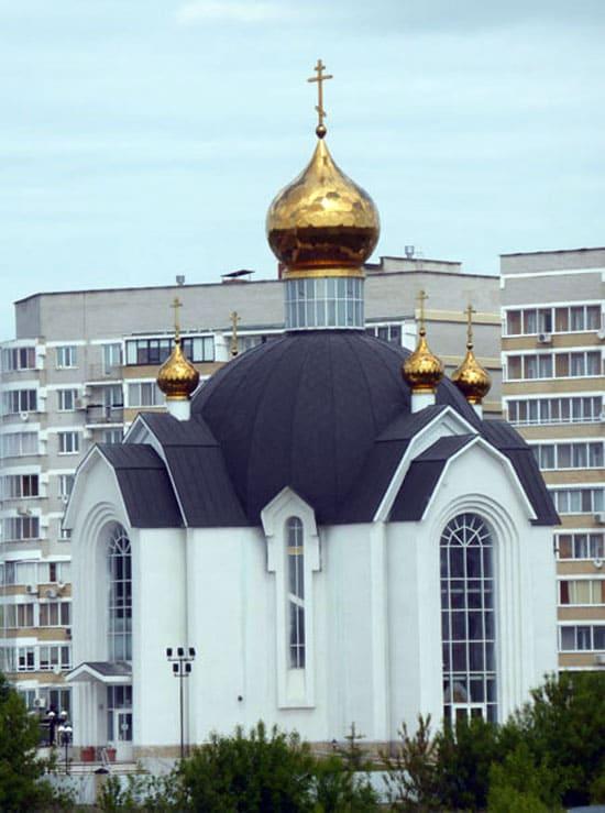 Храм преподобного Серафима