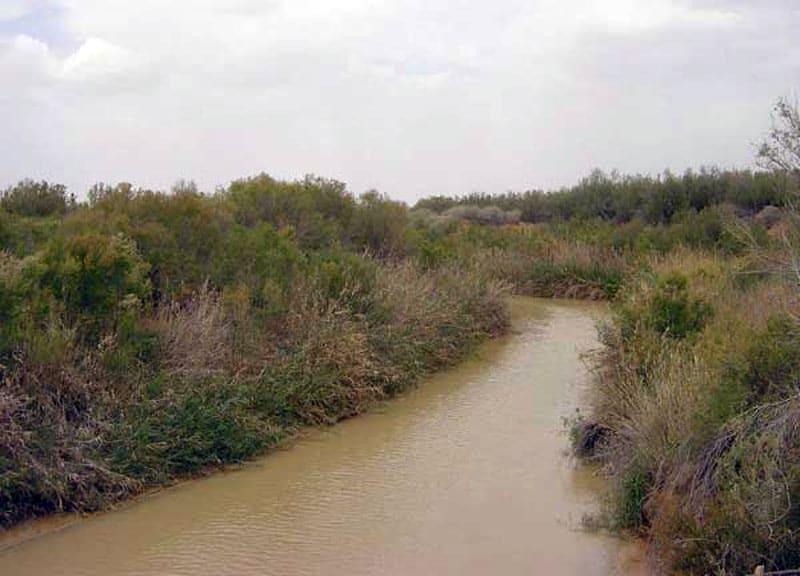 Фото реки Иордан