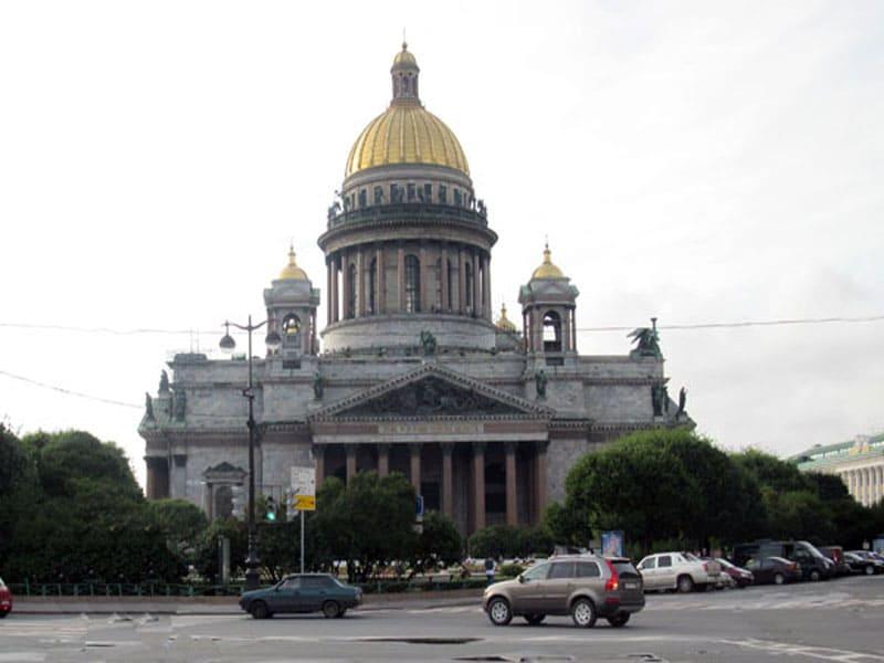 Фото достопримечательности Исаакиевский собор, Россия