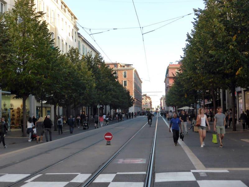 Улица Jean Medecin