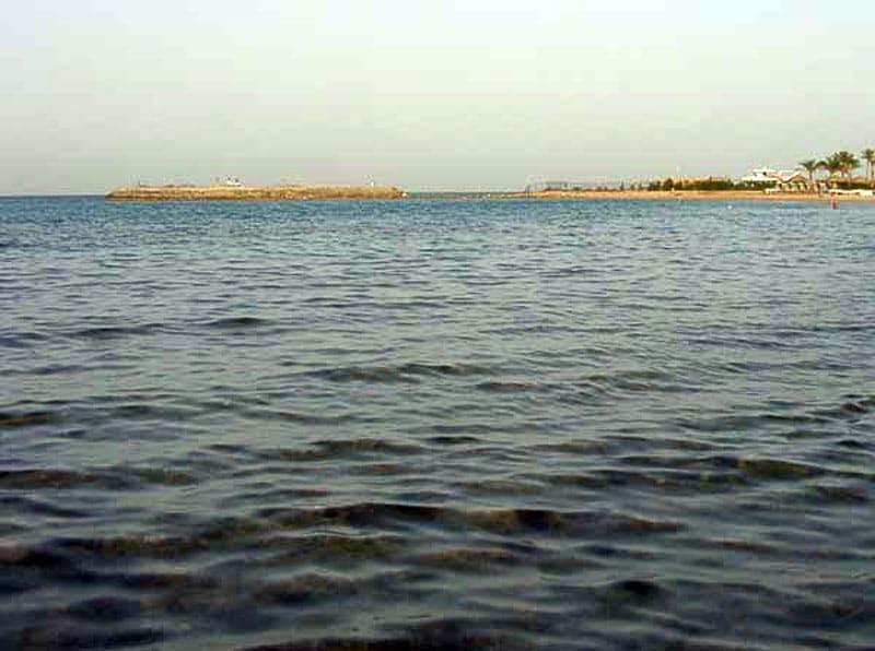Фото Красного моря Близ курорта Хургада