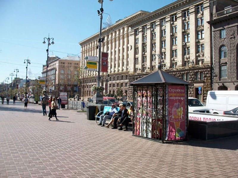 Улица Крещатик