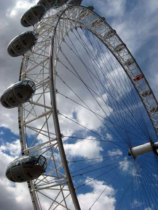 Колесо обозрения Лондонский глаз