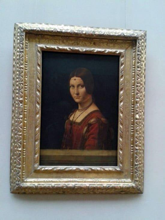 Картина в Лувре
