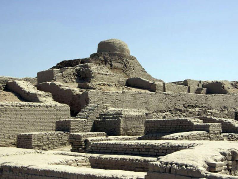 Руины города Мохенджо-Даро