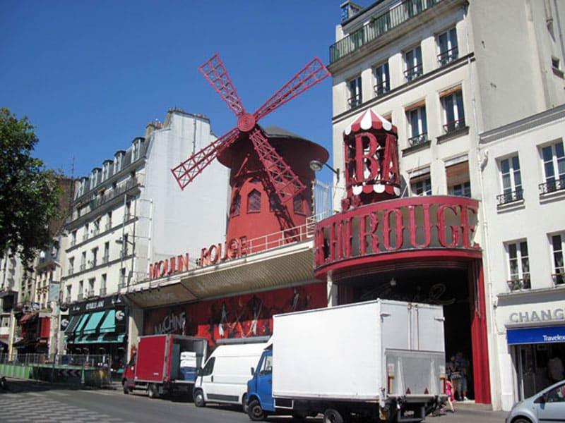 Фото достопримечательности Мулен Руж, Франция