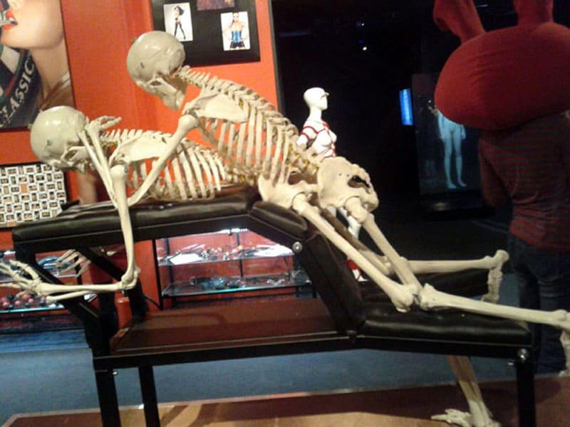 Секс в музее с работницей человеческое
