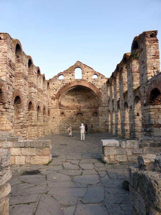 Старый город Несебр