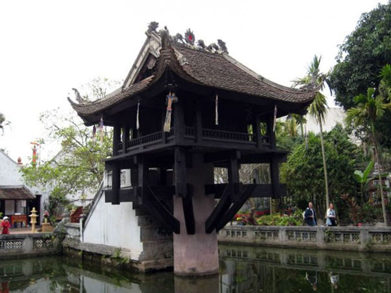 Пагода на Одной Ножке