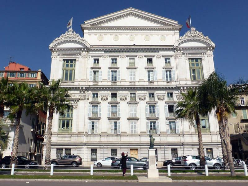 Оперный театр в Ницце