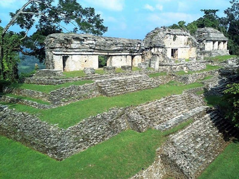 Руины города Паленке