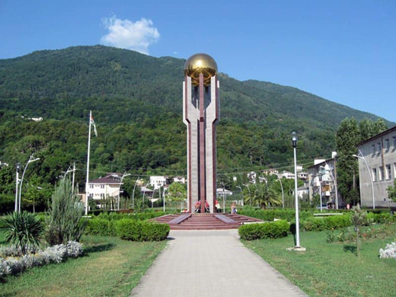 Памятник победе в абхазо-грузинской войне