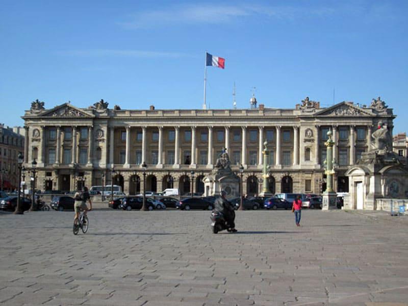 Отель The hotel de la Marine на площади Согласия