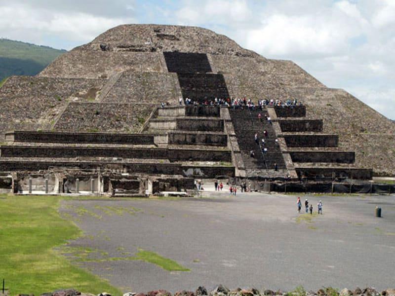 Мексика где находятся пирамиды