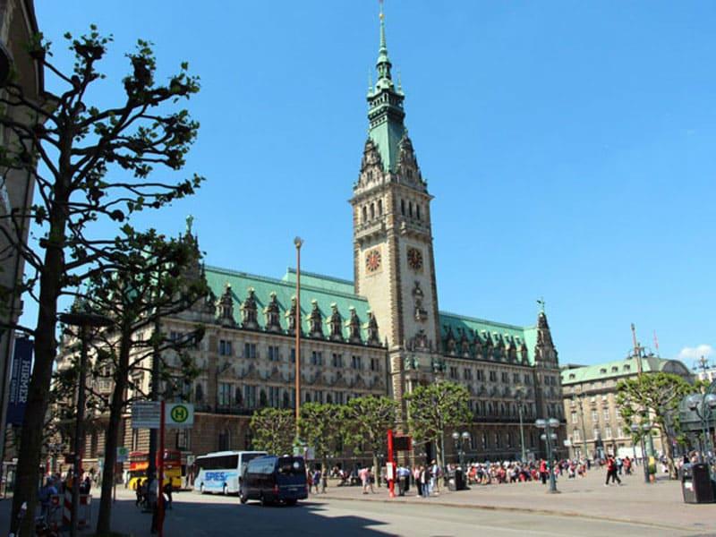 Центральная Ратуша Гамбурга