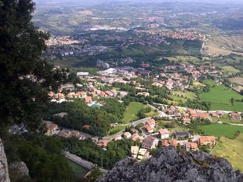 Вид на Сан-Марино