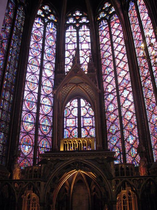 Внутри капеллы Сент-Шапель
