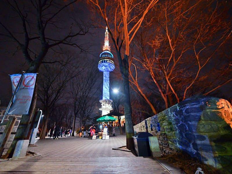 Телебашня YTN Seoul Tower