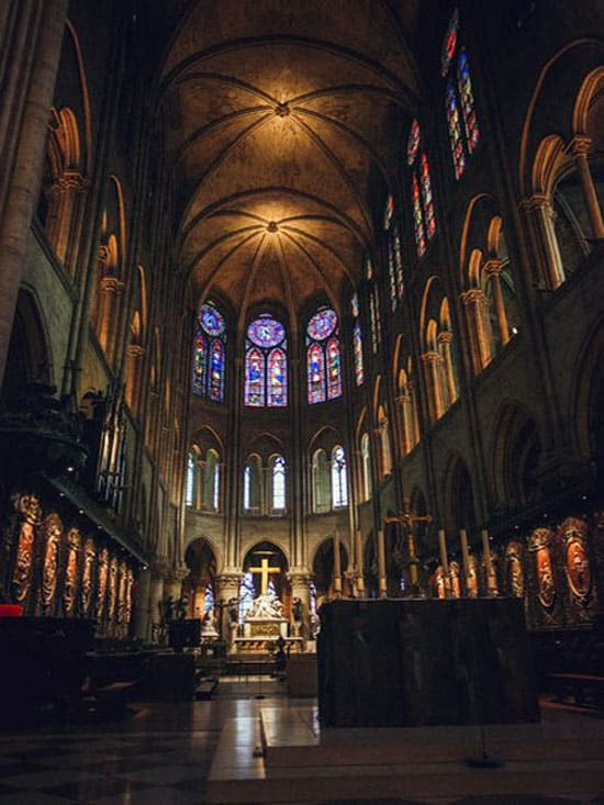 Собор парижской богоматери где он находиться