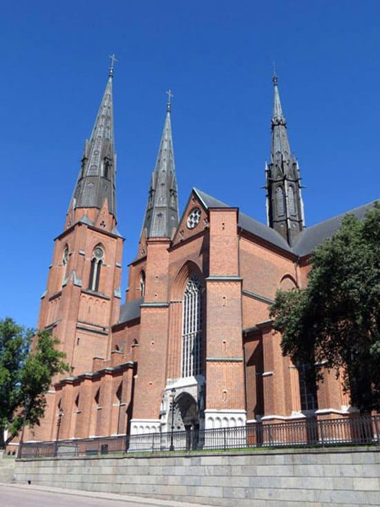 Кафедральный собор г. Уппсала