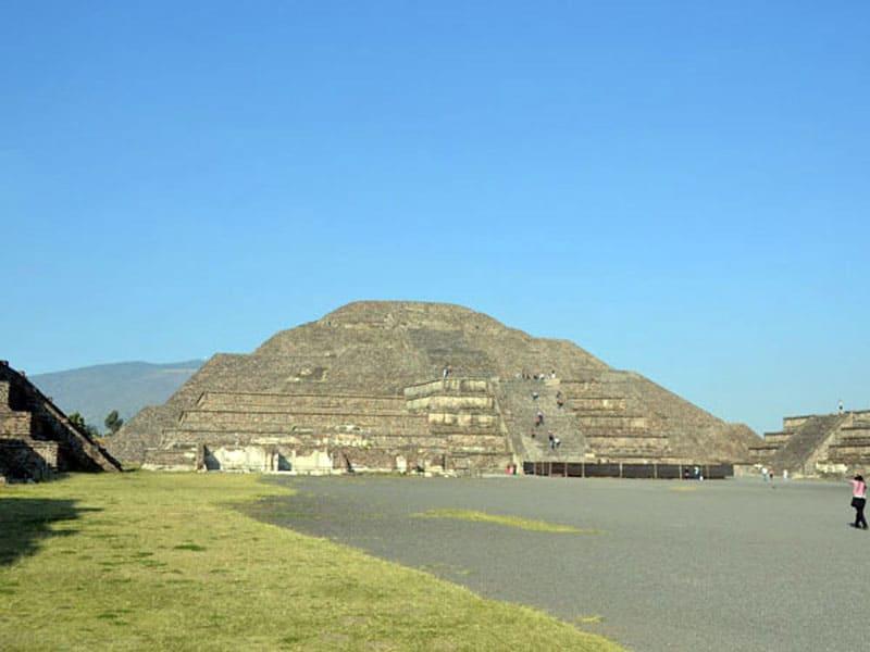 Пирамиды Теотиуакан