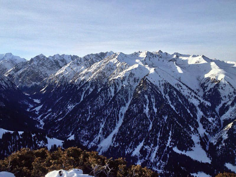 Горы Тянь-Шань