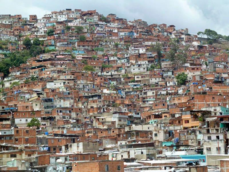 Трущобы в Каракасе