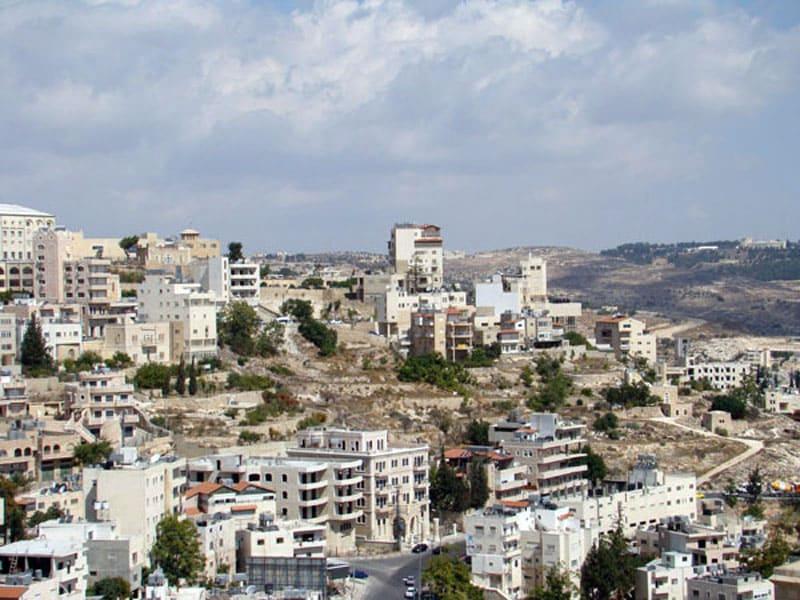 Вид на город Вифлеем