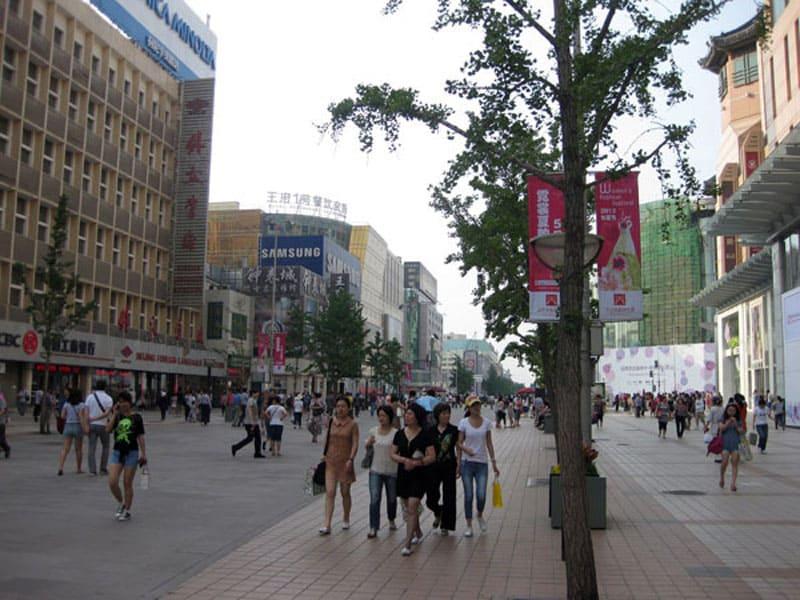 Улица Ванфуцзинь
