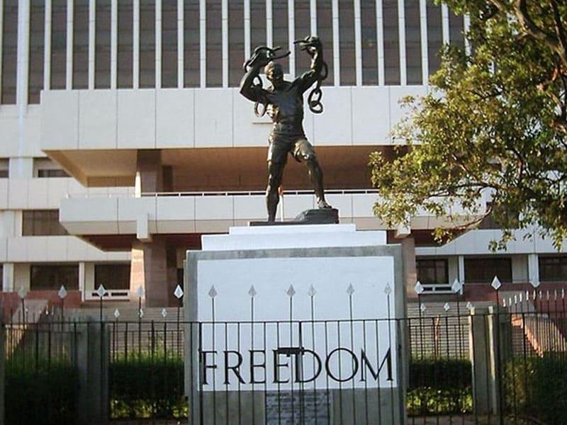 Памятник в честь освобождения от Великобритании, Лусака