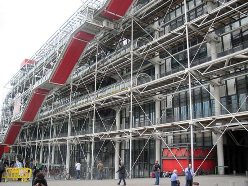 Фото достопримечательности Центр Жоржа Помпиду, Франция